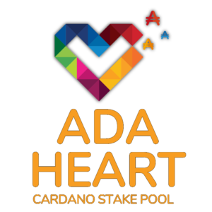 ADA HEART Stake Pool Logo